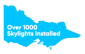 Over 1000 skylights installed in Victoria