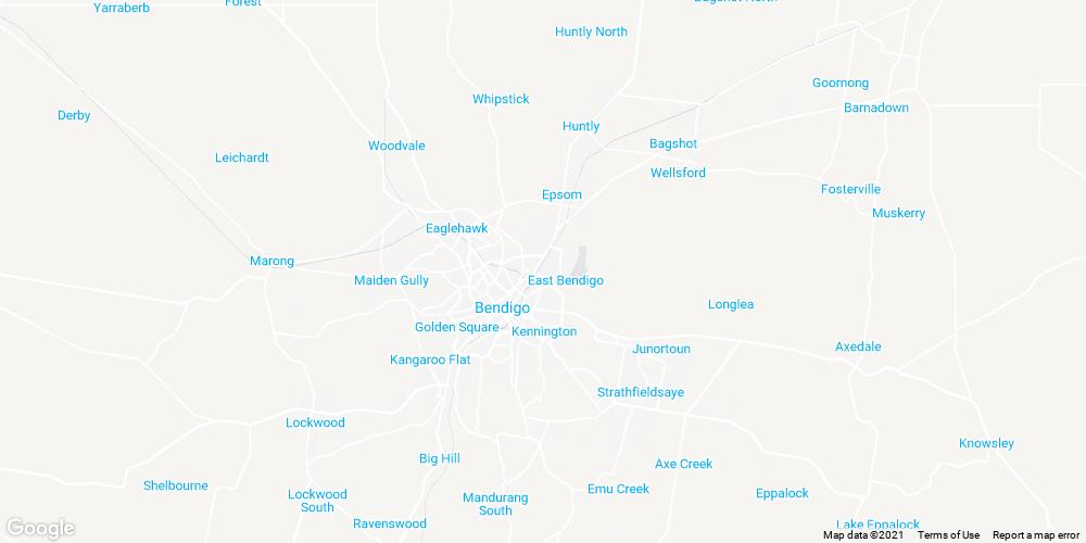 Bendigo skylights installation map