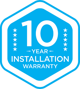 10 year installation warranty